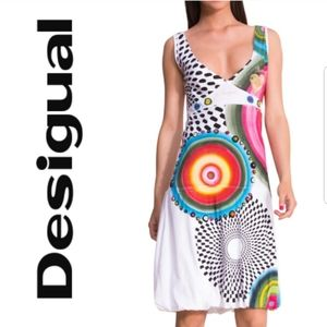 Desigual Love Mini  Dress - Size Small